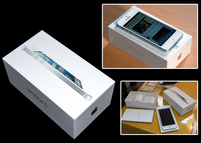 Apple iphone 5 Full Box