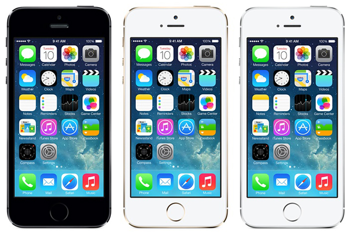 Apple iPhone 5S - thiết kế
