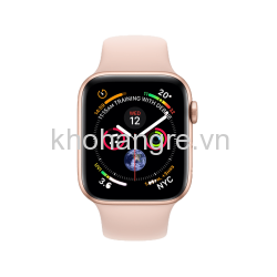 MU682 - Apple Watch 4 Sport - 40mm Gold Aluminum/ Pink Sand Sport Band (GPS) (Full VAT)