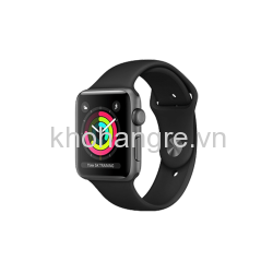 Apple Watch 3 - 42mm Space Gray Aluminum/ Sport Brand Black (GPS) (Full VAT)