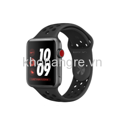 Apple Watch 3 Nike+ - 38mm Space Gray Aluminum/ Anthracite/ Black Nike Sport Band (GPS + Cellular) (Full VAT)