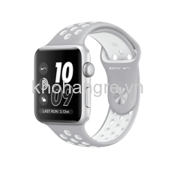 MQ192 - Apple Watch 2 - 42mm Silver Aluminum/ Flat Silver/ White Nike Sport Band (GPS) (Full VAT)