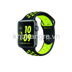 MQ182 - Apple Watch 2 - 42 mm Space Gray Aluminum/ Black/ Volt Nike Sport Band (GPS) (Full VAT)