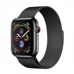 Apple Watch series 4 44mm Esim Thép, Dây Cao Su - New Fullbox
