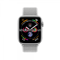 Apple Watch series 4 40mm GPS, Viền Nhôm, Dây Cao Su - New Seal
